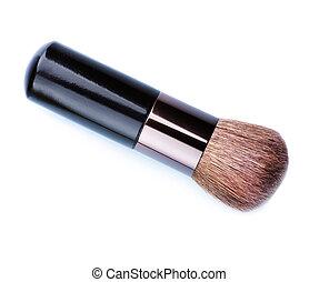 brush., maquilagem, maquiagem