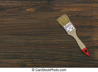 Brush On Table