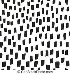 Brush pattern. Vector seamless texture background