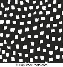 Brush seamless pattern.Vector background.