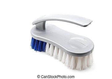 Brush - A Brush isolated on a white backround