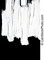 Brush strokes  -- abstract background