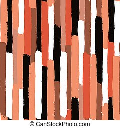 Brush strokes seamless pattern