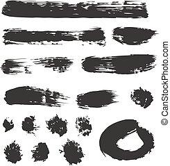 Brush Strokes Set 01