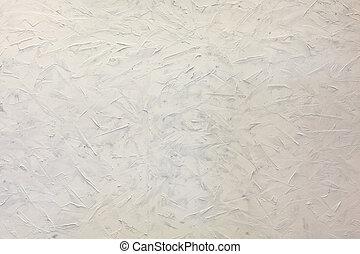 Brush Strokes Wall