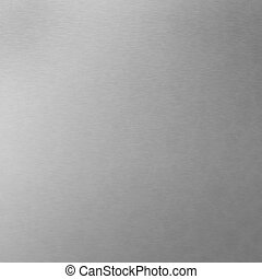 Brushed Aluminum - Background texture of brushed aluminum -...
