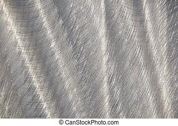 Brushed Aluminum - rippled brushed stainless steel sheeting