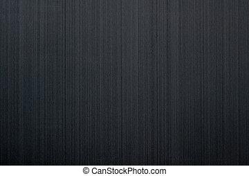 Brushed black aluminum