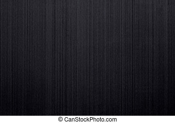 Brushed black aluminum - Closeup of brushed black aluminum...