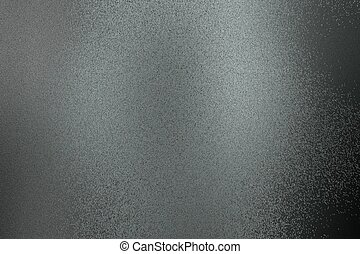 Brushed black steel metal texture, abstract background