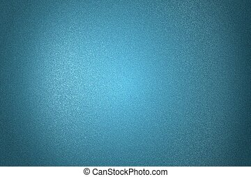 Brushed blue metal wall, abstract texture background