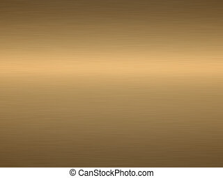 a large sheet of rendered brushed and polished bronze