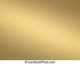 a large sheet of rendered lightly brushed shiny gold