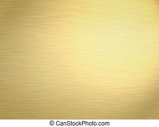 brushed gold - a large sheet of rendered lightly brushed...