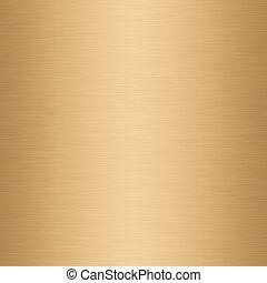 brushed gold - a large sheet of lightly brushed gold...