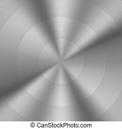 Brushed Metal Circular Backgrounds
