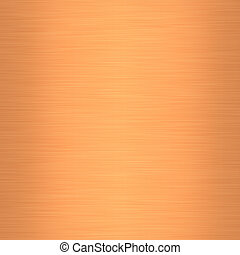 Brushed Metal Copper - Illustration of brushed copper.
