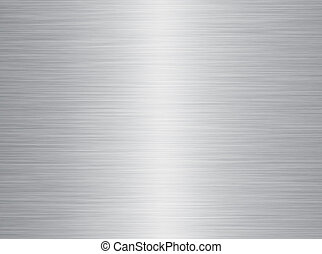 brushed metal - a very large sheet of rendered brushed steel...