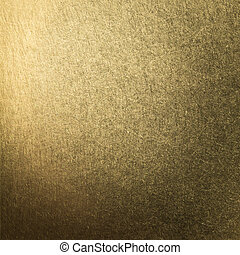 brushed metal gold