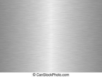 brushed metal steel