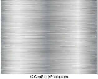 Brushed metal texture abstract background. Vector illustration