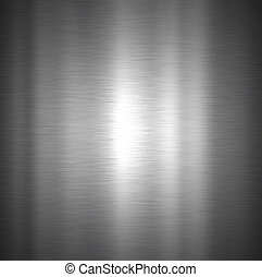 Brushed metal texture - Background with a brushed metal...
