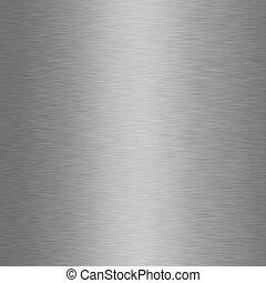 Brushed Metal Texture - XXXL - Seamless grey brushed metal...