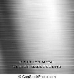 Brushed metal