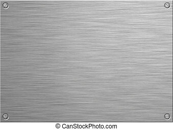 Brushed Panel - A brushed stainless steel panel for adding...