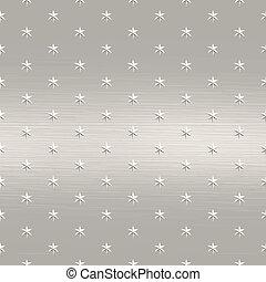brushed stars