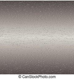 Brushed steel metal
