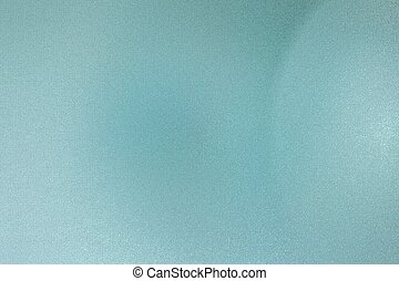 Brushed teal wave metallic sheet, abstract texture background