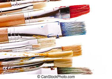 Brushes - Detail of brushes