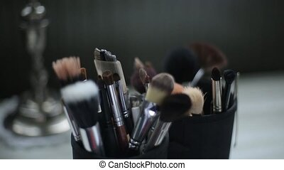 Brushes for Makeup Macro 100mm slider camera motion -...