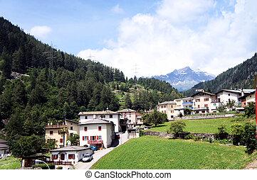 brusio, graubuenden, suisse