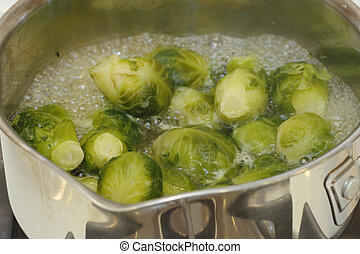 Brussel Sprouts Cooking