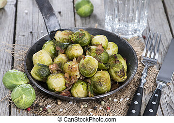 Brussel Sprouts with Ham