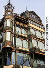 Brussels architecture - Old England building (musical...