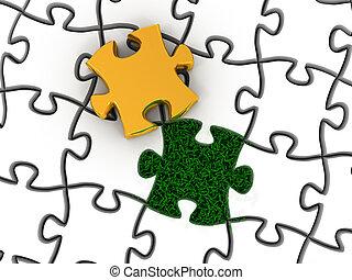 brut, puzzle
