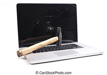 bruten, laptop