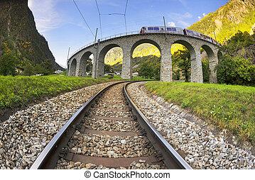 bruzio, viaduc, pont