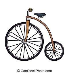 brwo, clásico, bicicleta