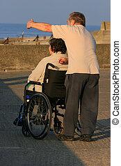bry för, den, handikappad