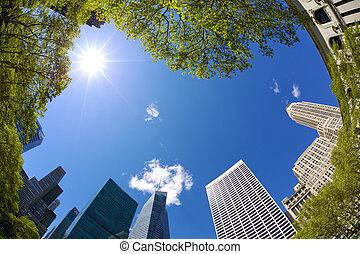 Bryant Park Skyscrapers