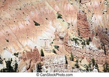 Bryce canyon landscape, USA