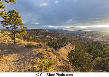 Bryce Canyon Sunrise View in Southern Utah