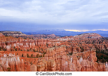 bryce, canyon-sunset, ponto