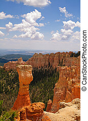 Bryce canyon vista - Vista of bryce Canyon National Park in...