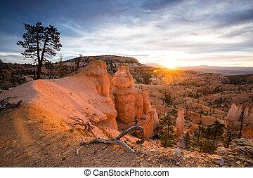 bryce kanyon nemzeti dísztér, utah, usa
