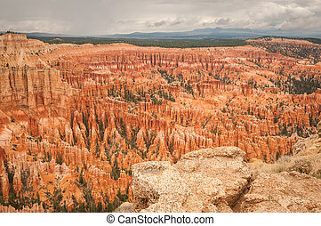 Bryce valley Canyon amphitheater west USA utah 2013